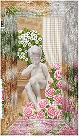 """Схема для вышивки бисером на подрамнике (холст) """"Милый ангелочек"""""""