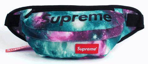 Оригинальная спортивная сумка на пояс Supreme 131, космос