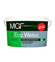 Краска интерьерная MGF Eco Weiss, 10 л