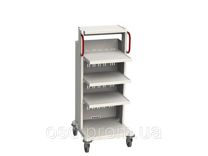 Стойка для аппаратуры СА-3 Medin (Медин) - Медтехника «Здоровая жизнь» - инвалидные коляски, кровати медицинские, массажное оборудование в Запорожье