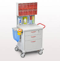 Тележка медицинская функциональная ТМ-1 Medin (Медин)