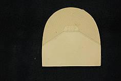 Формованная резиновая набойка для обуви ТОР беж. (Украина)