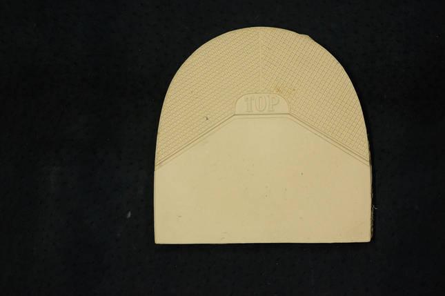 Формованная резиновая набойка для обуви ТОР беж. (Украина), фото 2