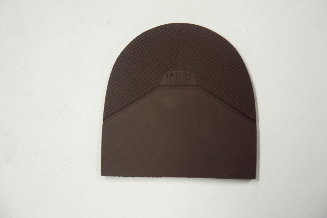 Формованная резиновая набойка для обуви ТОР коричн. (Украина)