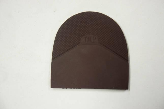 Формованная резиновая набойка для обуви ТОР коричн. (Украина), фото 2