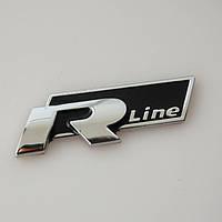 3D эмблема R-LINE - Цвет черный