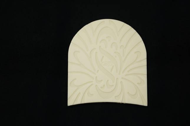 Набойка полиуретановая № 0 8В (Латвия), бел., фото 2
