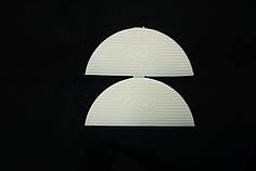 Подковка (рубец на задник) П/У (Україна), цвет бел.