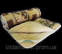 Ковдра хутряна  - двоспальна  тканина поліестр, фото 1