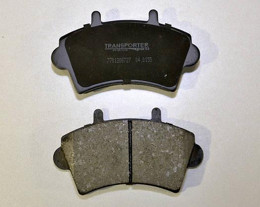 Дисковые тормозные колодки передние (R16) на Renault Master II 2001-> 2010 Transporterparts (Франция) 04.0155