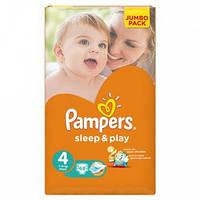 Подгузники Памперс Pampers Sleep&Play Maxi 4 (7-14кг.) 68 шт.