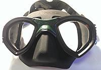 Маска для подводной охоты Sporasub Mystic; чёрная