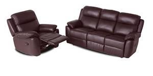 """Кожаный диван с креслом  """"ALABAMA BIS"""""""