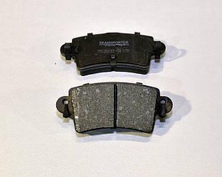 Дисковые тормозные колодки задние на Renault Master II 1998-> 2010 Transporterparts (Франция) 04.0156