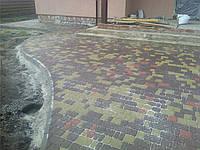 Тротуарная плитка вибропрессованная Старый город, 6 см, Харьков