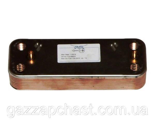 Теплообменник пластинчатый (16 пл.) Baxi Eco, Eco 3 Compact, Luna, EcoFour, Fourtech /Westen Energy, Pulsar