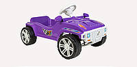 Педальная машина,фиолетовая,80х51х31см.