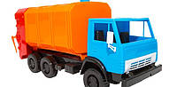 Детская машина мусоровоз Х-1,в сетке,28х14х11см.