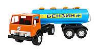Детская машина бочка для мальчика,64х22х20см.
