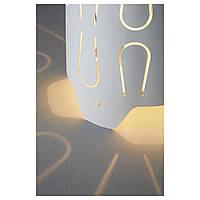 IKEA КАЮТА Лампа настольная, белый : 20249504, 202.495.04