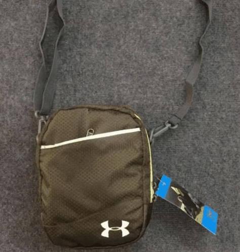 Компактная спортивная сумка мессенджер через плечо Under Armour 162, оливковый