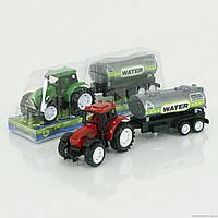 Трактор инерц.№9975-4,под блистером,22х6х5см.