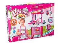 Детская Кухня муз.№3830-6,свет,в коробке,75х44х12см.