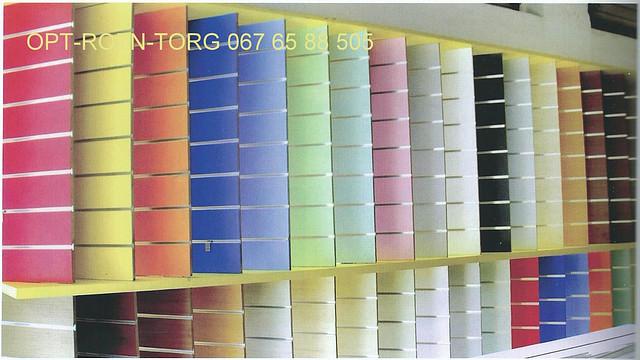 Экономпанель цветная(цвет любой)1.00х1.22м.