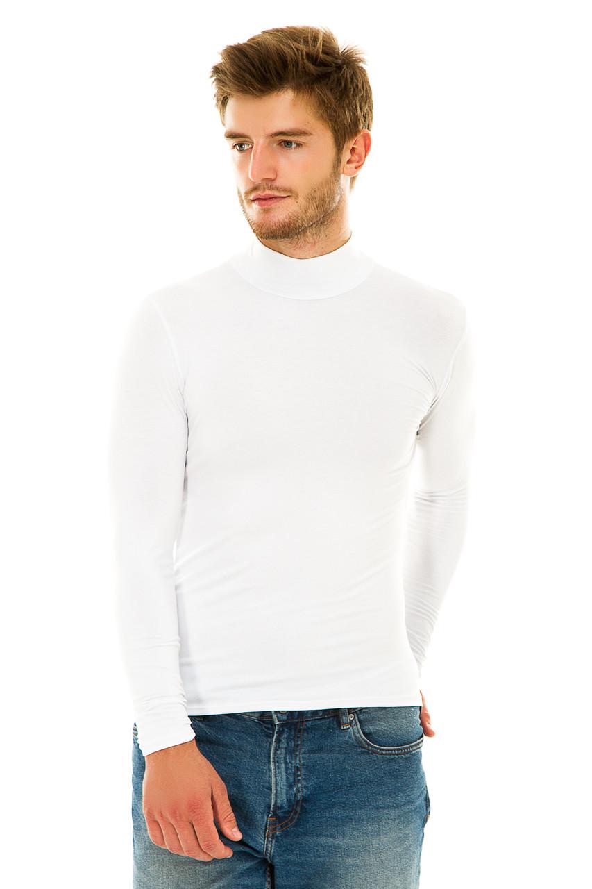 Водолазка мужская  Белый