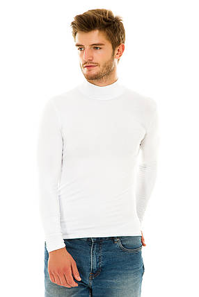 Водолазка мужская 056 Белый, фото 2