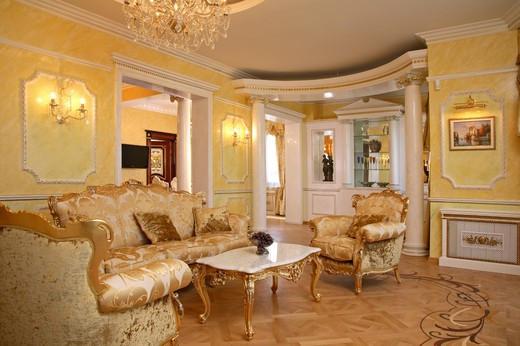 Ремонт квартир и домов в Харькове с нуля и до полной готовности Эксклюзивная гостиная в ХАРЬКОВЕ.