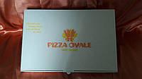 Коробка картонная для пиццы 450х300х40 мм.