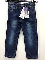 Брюки джинсовые на флисовой подкладке 104,116,134 роста