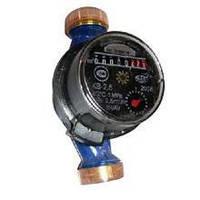 Водосчетчик горячей воды Луцк КВ-2,5 крыльчатый, Ду 20, максимальный расход 4,0 м3/час, 30-90°C, 0,55кг