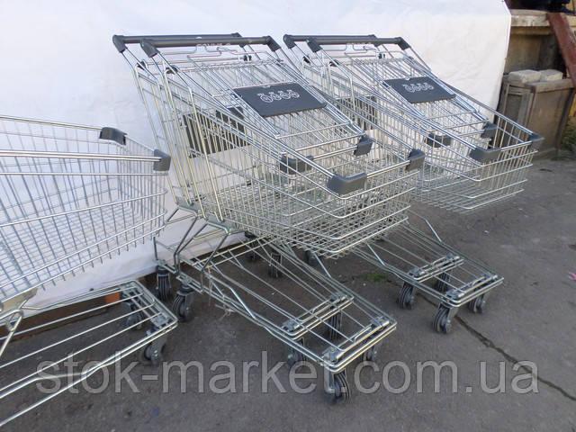 Новые покупательские торговые тележки для супермаркетов магазинов среднего формата.