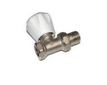 Регулировочный радиаторный вентиль Icma 1/2 прямой (комплект)