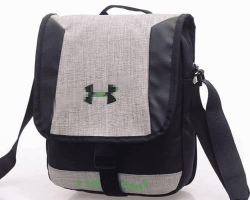 Вместительная спортивная сумка мессенджер через плечо Under Armour Storm1 166, серый