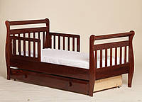 """Детская кроватка """"Алиса"""" из натурального дерева"""