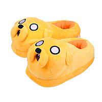 Тапочки домашние мультяшные  желтые