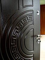 """Входная дверь, металлическая, с МДФ накладками, цвет """"Венге"""", размер 86 см, правая. Модель """"Греция"""""""