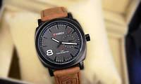 Мужские часы Curren в стиле милитари черный циферблат , фото 1