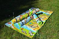 Детский коврик для ползания ребенка «Мадагаскар» (оригинал) 2000х1200х10 мм
