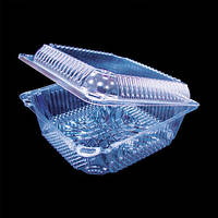 Пластиковый контейнер для салата 2219