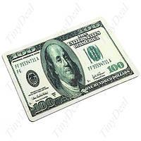Коврик для компьютерной мышки Доллар, Евро (20*28*0.2), оригинальный коврик под мышку
