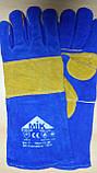 Рукавицы защитные кожаные - краги МИК, фото 2