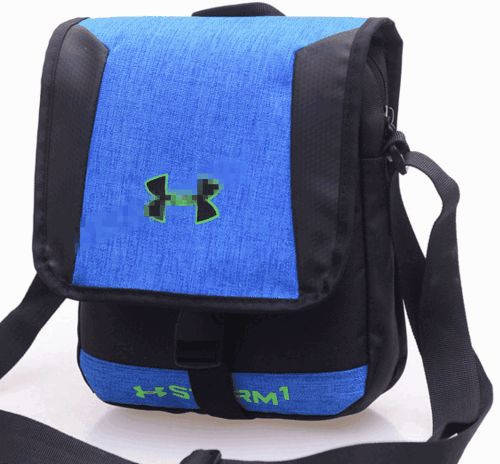 Классная спортивная сумка мессенджер через плечо Under Armour Storm1 169, синий