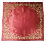 Илитон вышитый золотом, ткань королевский атлас №02