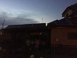 Мережева сонячна електростанція 15кВт. с Прилуцьке 1