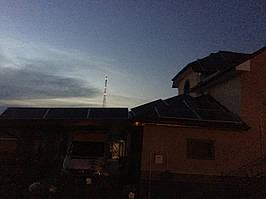 Мережева сонячна електростанція 15кВт. с Прилуцьке 4