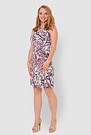 Льняное, легкое женское платье больших размеров прилегающего силуэта 15001/2